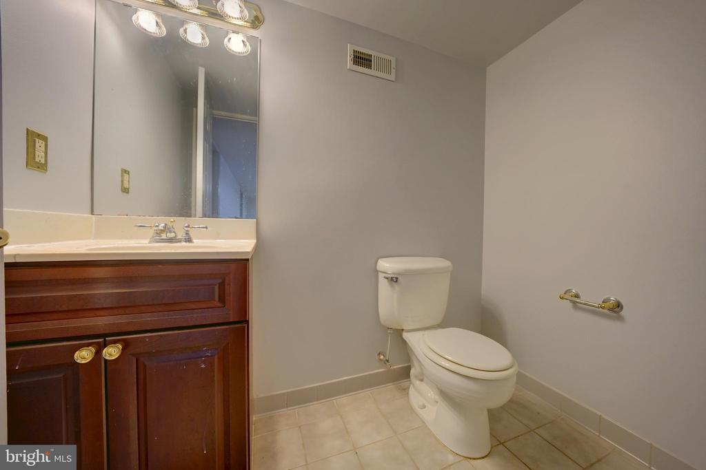 Half Bath in Lower Level - 12126 MERRICKS CT, MONROVIA