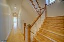 Hardwood Floors & Staircase - 12126 MERRICKS CT, MONROVIA