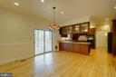 Large Breakfast Room off Kitchen - 12126 MERRICKS CT, MONROVIA
