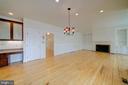 Breakfast Room Leading to Large Family Room - 12126 MERRICKS CT, MONROVIA