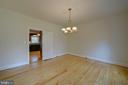 Formal Dining Room - 12126 MERRICKS CT, MONROVIA