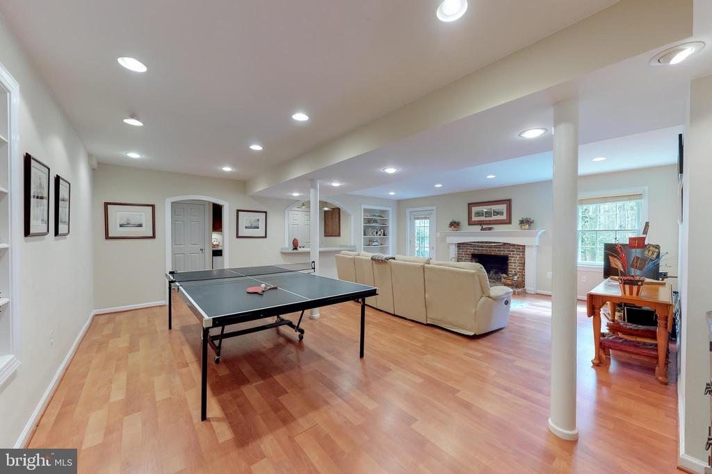 Game/Rec room - 10415 DOMINION VALLEY DR, FAIRFAX STATION