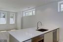 Gourmet kitchen with gas cooktop - 1101 Q ST NW #102, WASHINGTON