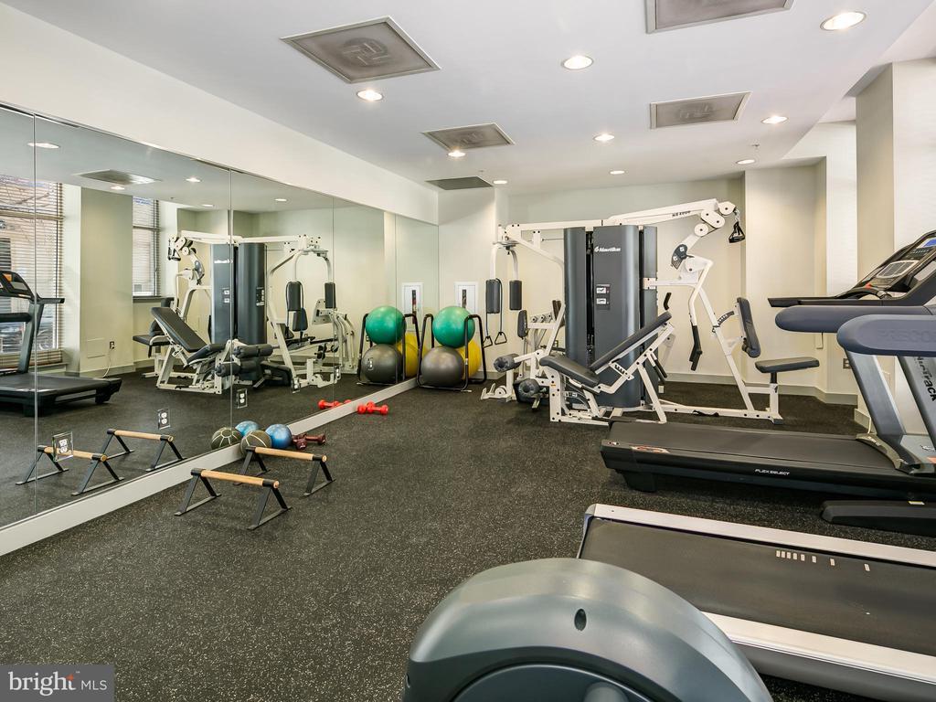 Fitness Room on 1st Floor - 715 6TH ST NW #205, WASHINGTON