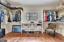 His walk in closet, her's is across the hall - 23590 SALLY MILL RD, MIDDLEBURG