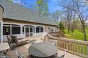 You can see and hear Little River from this Deck - 23590 SALLY MILL RD, MIDDLEBURG