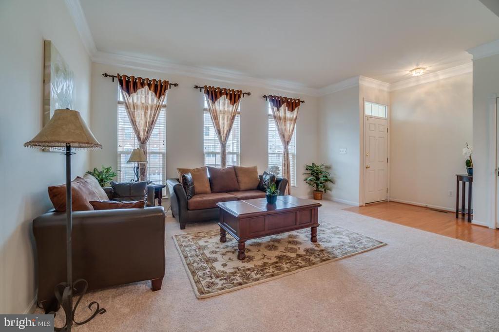 Living room Open Floor Plan - 20129 PRAIRIE DUNES TER, ASHBURN