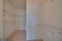 Walk-in closet - 20129 PRAIRIE DUNES TER, ASHBURN