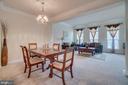 Entertaining Ling, Dining Rooms Lots of Sunlight - 20129 PRAIRIE DUNES TER, ASHBURN