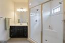 Large double shower - 7838 CULLODEN CREST LN, GAINESVILLE
