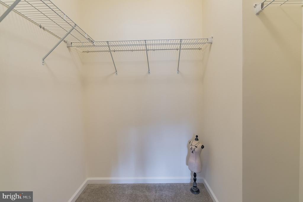 Generous walk in closet - 7838 CULLODEN CREST LN, GAINESVILLE