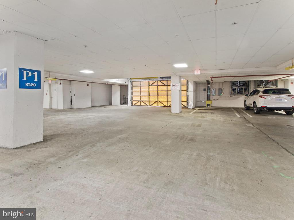 2 large Parking Spaces on P1 - 8220 CRESTWOOD HEIGHTS DR #1814, MCLEAN