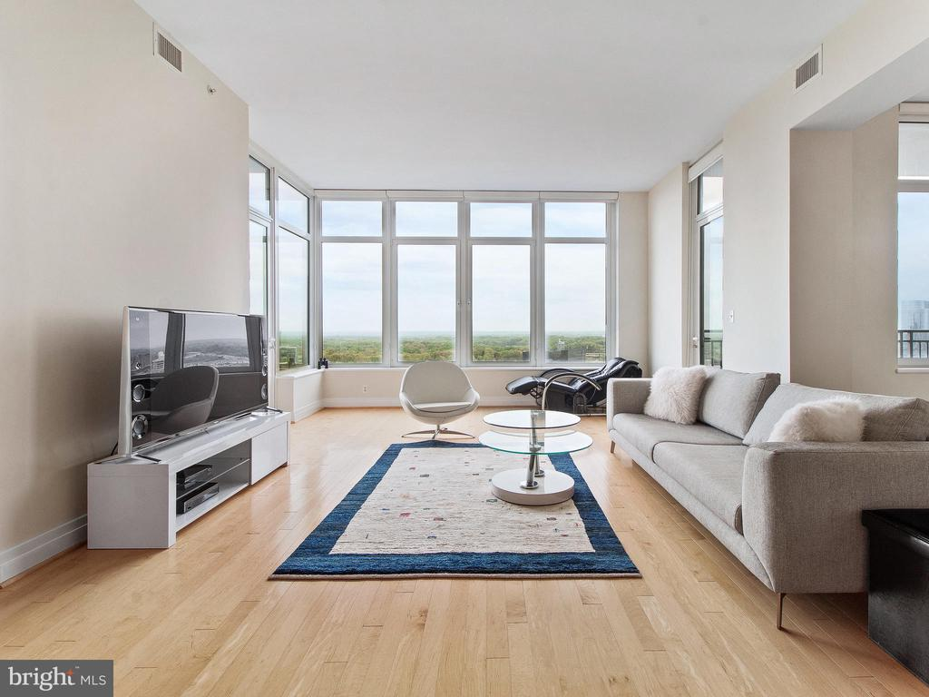 Open Floor Plan With Gorgeous views - 8220 CRESTWOOD HEIGHTS DR #1814, MCLEAN
