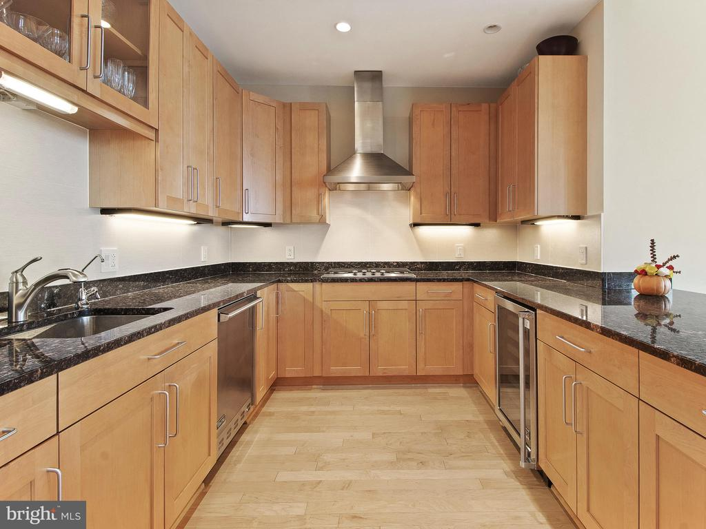 Kitchen with Viking Appliances - 8220 CRESTWOOD HEIGHTS DR #1814, MCLEAN