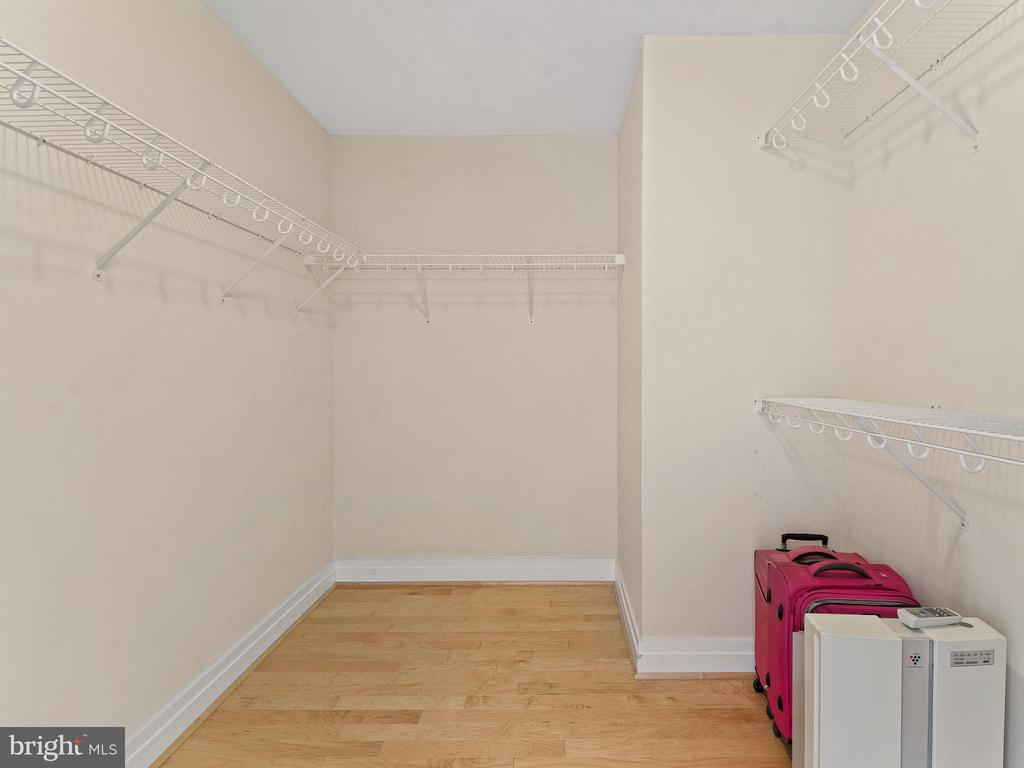 Large Walk-in Closet - 8220 CRESTWOOD HEIGHTS DR #1814, MCLEAN