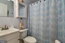 FULL BATH ON BEDROOM LEVEL - 7396 HILLSIDE TURN, MOUNT AIRY