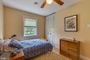 BEDROOM #3 VIEW  2 - 7396 HILLSIDE TURN, MOUNT AIRY