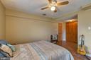 BEDROOM #4 VIEW 2 - 7396 HILLSIDE TURN, MOUNT AIRY