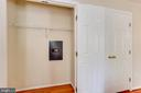 Your own built-in safe - 15103 SWISS STONE CT, BURTONSVILLE