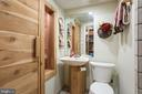 Basement full bath with a sauna! - 15103 SWISS STONE CT, BURTONSVILLE