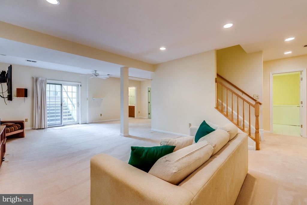 Prior to new carpet installation. Door to yard!!! - 2405 SAGARMAL CT, DUNN LORING