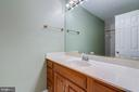 Lower level full bath with tub - 2405 SAGARMAL CT, DUNN LORING