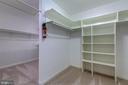 Walk in closet with built-ins - 2405 SAGARMAL CT, DUNN LORING