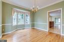 Window treatments convey. Crown & chair moldings - 2405 SAGARMAL CT, DUNN LORING
