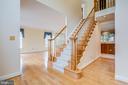 Gracious 2 story foyer,  living room & hall - 2405 SAGARMAL CT, DUNN LORING