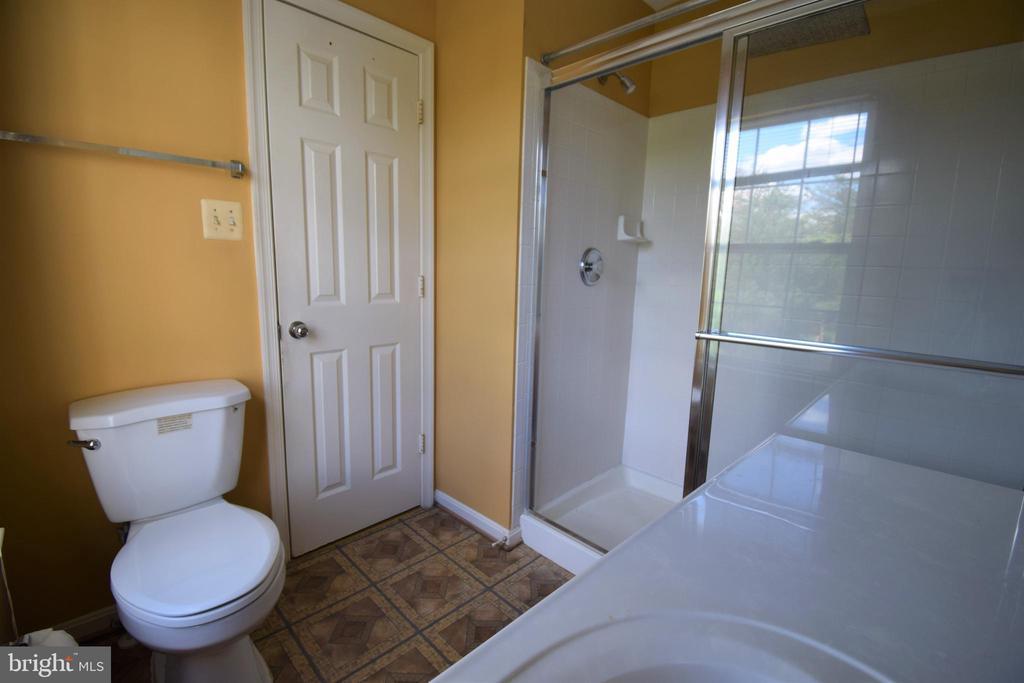 Third level: Master bath - 22953 WHITEHALL TER, STERLING