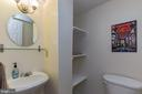 Half bath in the basement. - 8 GLENGYLE CT, STERLING