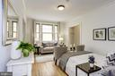 The natural light reflects off of hardwood floors - 105 6TH ST SE #105, WASHINGTON