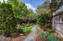 Enjoy the lush garden in the rear of the building - 105 6TH ST SE #105, WASHINGTON