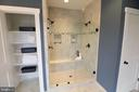 Walk In Shower with Bench - 12245 CLIFTON POINT RD, CLIFTON