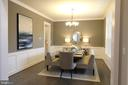 Generous Dining Room for Entertaining - 12245 CLIFTON POINT RD, CLIFTON