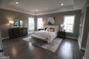 Inviting Master Bedroom Suite - 12245 CLIFTON POINT RD, CLIFTON