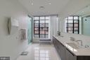 Master bath - 1055 WISCONSIN AVE NW #2W, WASHINGTON