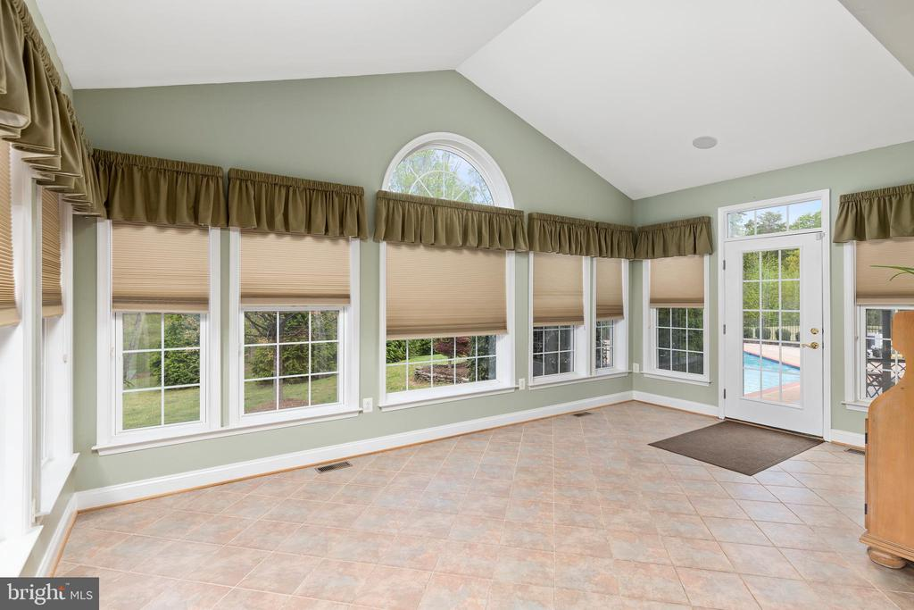 This Sunroom Is Off the Living Room - 12515 SINGLE OAK RD, FREDERICKSBURG