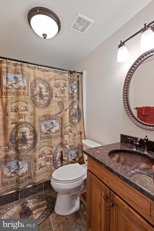 Full Bathroom In the Basement - 12515 SINGLE OAK RD, FREDERICKSBURG