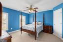 Fun Color In Bedroom #3 - 12515 SINGLE OAK RD, FREDERICKSBURG