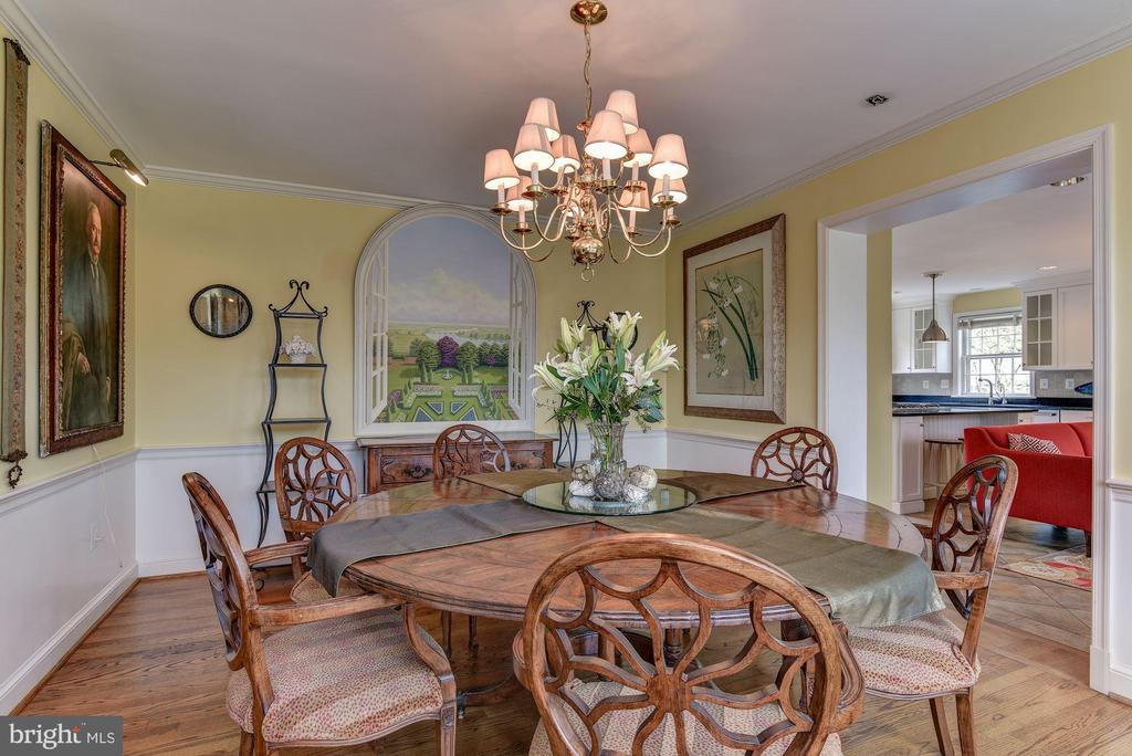 Dining room - 6006 COREWOOD LN, BETHESDA