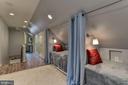 New fourth floor sleeping room, walk-in closet - 6006 COREWOOD LN, BETHESDA