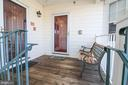 Front Door/Porch - 25280 LAKE SHORE SQ #304, CHANTILLY