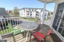 Private Balcony - 25280 LAKE SHORE SQ #304, CHANTILLY