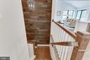 Feature Wall Takes You to Lower Level - 505 PRINCESS CT SW, VIENNA
