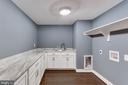 Amazing Laundry Rm with Tons of Cabinets/Counters - 505 PRINCESS CT SW, VIENNA