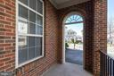 Arched Entry to Front Porch - 8371 TILLETT LOOP, MANASSAS