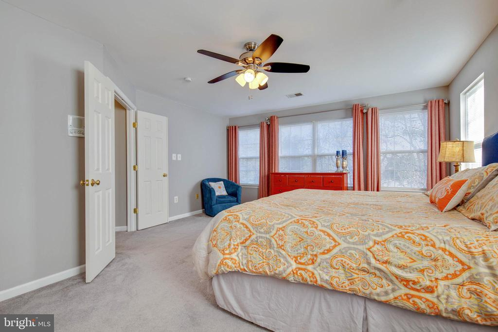 Spacious Master Suite with Wall of Windows - 8371 TILLETT LOOP, MANASSAS