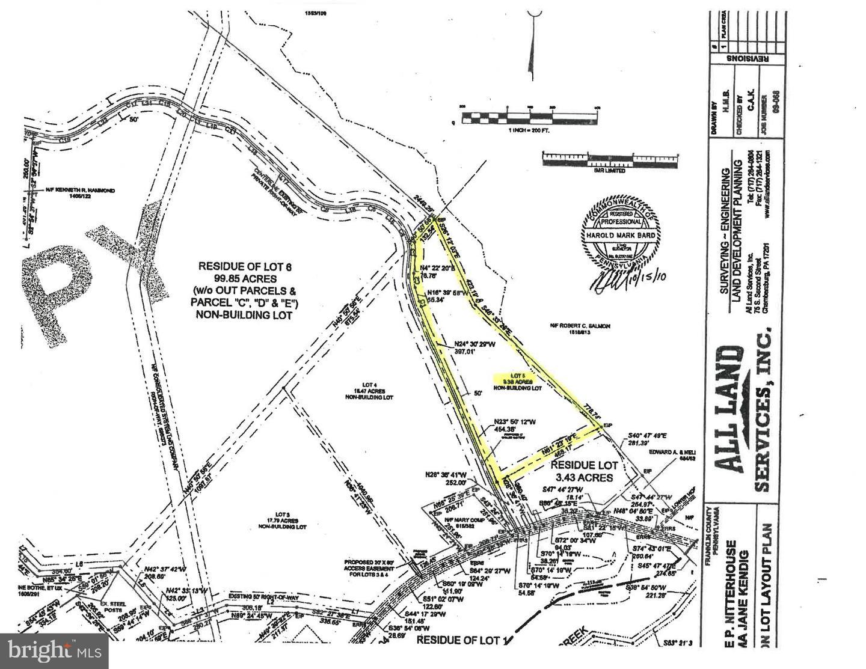 Terrain pour l Vente à Upperstrasburg, Pennsylvanie 17265 États-Unis