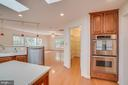Gourmet kitchen with center island and large panry - 2918 GLENVALE DR, FAIRFAX